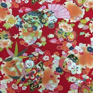 Cny cotton fabric