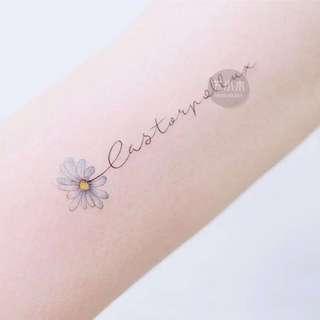 Temporary Tattoo/ Tattoo Sticker