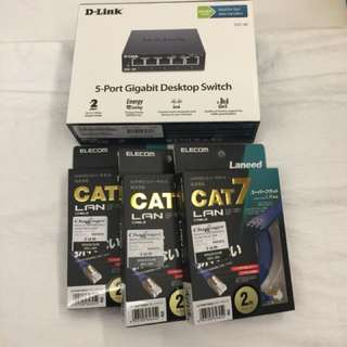 Dlink Smart Switch and Cables