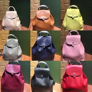 Longchamp Backpack Leather