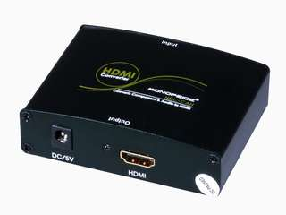 Component YPbPr and S/PDIF Digital Coaxial/Optical Toslink Audio to HDMI Converter