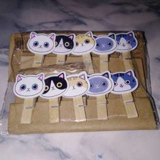 Brand New Cat Wooden Pins