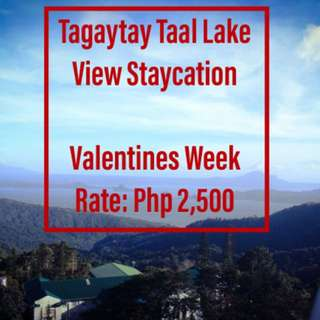 Tagaytay Taal Lake View Staycation