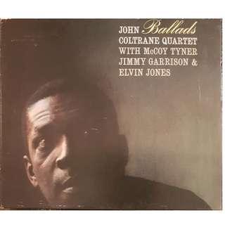 US Press Digipak CD John Coltrane Quartet Ballads