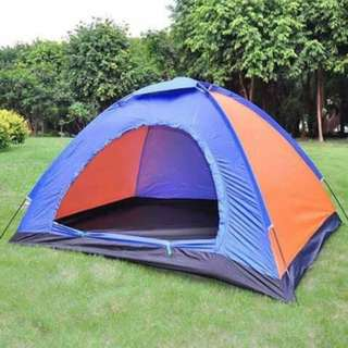 6 Person Waterproof Outdoor Tent with Carrying Bag