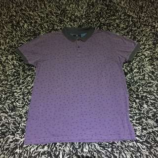 Cotton On Purple polo men