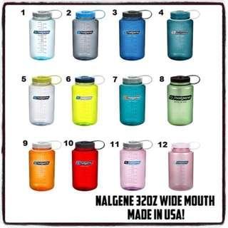 (RESTOCKED) Nalgene Wide Mouth Water Bottle 1000ML