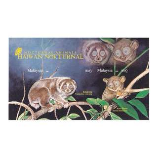 Malaysia 2008 Nocturnal Animals MS (Imperf) Mint MNH SG #MS1654