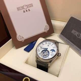全新萬希泉陀飛輪手錶「公司抽奬禮物」