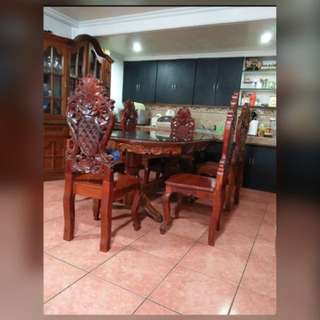 ❗️Moving out Sale  - Narra - Dining Set