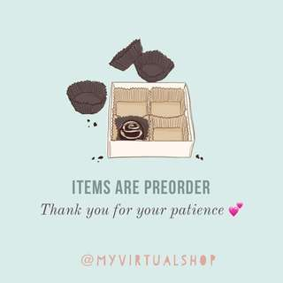 All my listings are preorder do take note :)