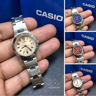Casio Stainless LTP1241 Series (for HER)