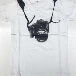 Camera * Cotton T-shirt * boys and girls