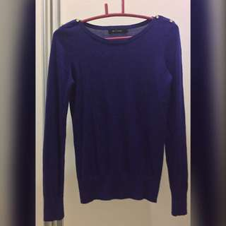 G2000 Top - Knitted - Blue