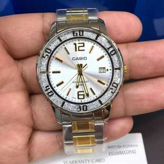 Casio Stainless LTP-1359D Series(GOLD)