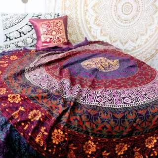 Mandala Tapestry (Twin Size)
