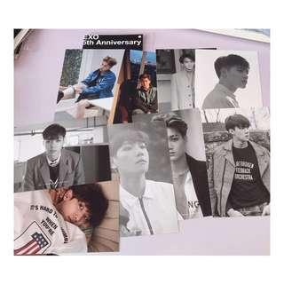 EXO 5週年 special photo set