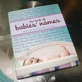 Baby names book *FOC*