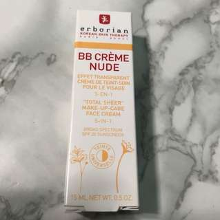 Erborian Bb creme nude (15ml)