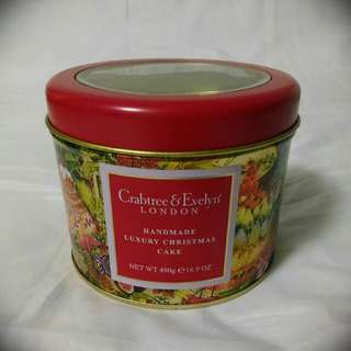 Crabtree & Evelyn Tin with See-thru Cover (Round)