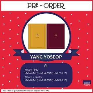 (NON-PROFIT) YANG YOSEOP - 白