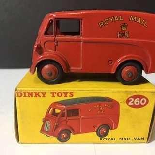1960s Dinky toys Royal Mail van