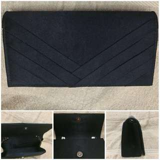 Black Pouch for Formal Events