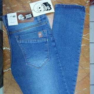 celana jeans skinny pria