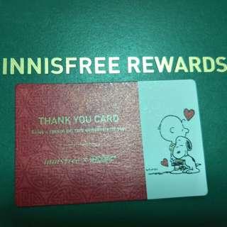 Innisfree $10 cash voucher (for mth March)
