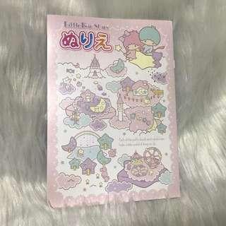 日本製Little Twin Stars精美畫冊