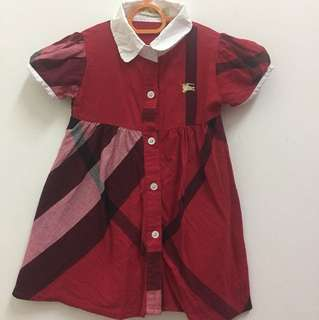 Burberry Dress - Red