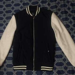 Bershka Varsity Bomber Jacket