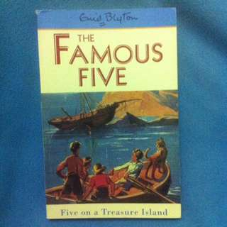 Enid Blyton - The Famous Five - Five on a Treasure Island l
