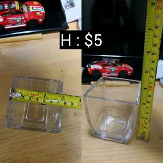 H : Candy Corner 玻璃樽