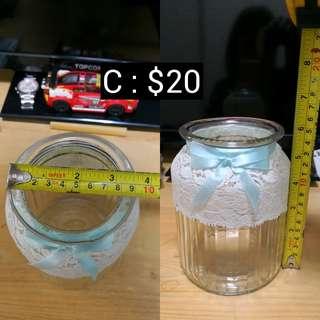 C : Candy Corner 糖果玻璃樽