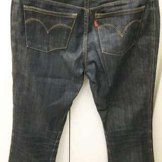 Levis 553 直筒牛仔褲(二手)