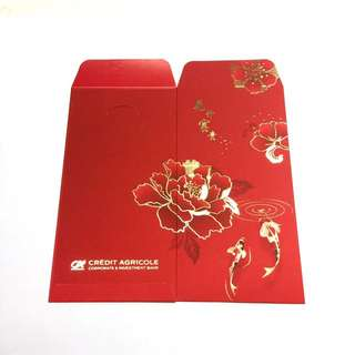 2018 Credit Agricole Red Packets