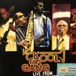 Kool and the Gang live from House of Blues