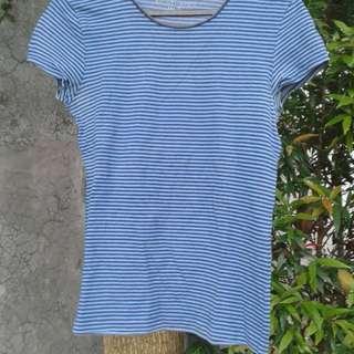 Giordano Stripes Blue