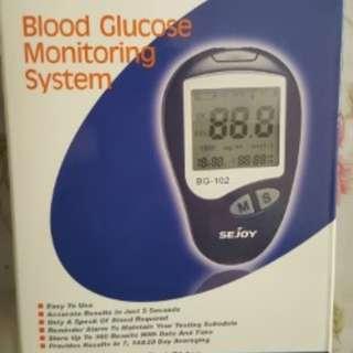 Blood Glucose Monitoring Device, Sejoy