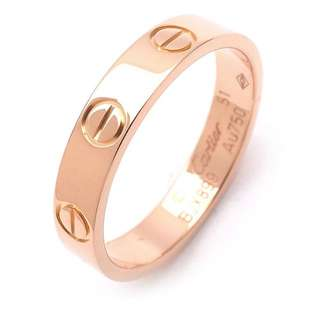CARTIER LOVERING in PINK GOLD