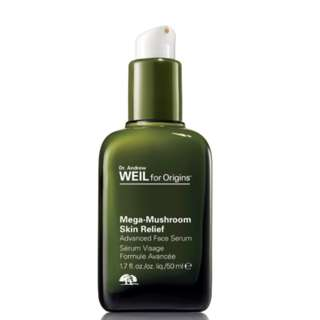 DR. ANDREW WEIL FOR ORIGINS™ MEGA-MUSHROOM SKIN RELIEF ADVANCED FACE SERUM (50ML)