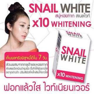 SNAIL WHITE 10X WHITENING EFFECT
