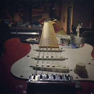 Modded Squier California Series (Early Model) Strat