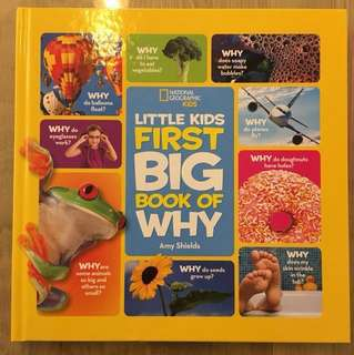 National geographic kids - little kids first first big book of why