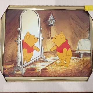 Winnie the Pooh pictures with frames