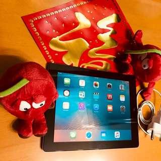 iPad 2 Cellular/Wifi 64GB Black w Screen Protector & Cover
