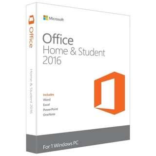 Microsoft Office 2016 Home & Student - Binow Australia