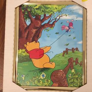 Winnie the Pooh picture with frames