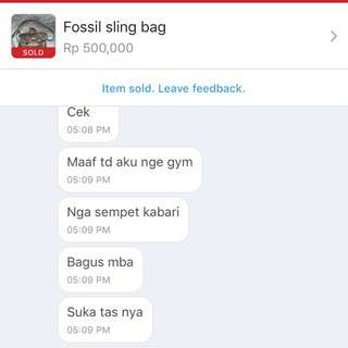 Testi from our lovely customer ❤️❤️❤️